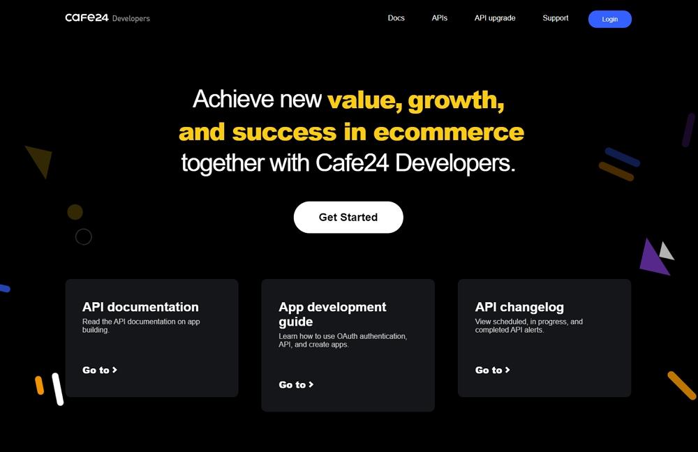 Cafe24 Developers