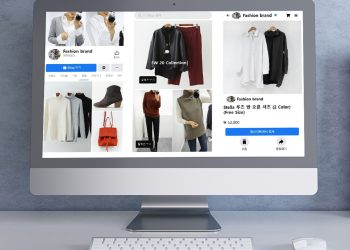 Product display section on Facebook Shops. Clicking on 'See Collection' opens up a range of selected items. By saving items, users can revisit them at a later time. Source: Cafe24